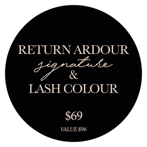 lashcolour and return ardour