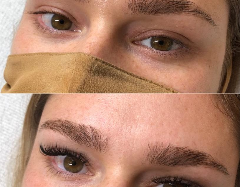 What are Hybrid Lash Extensions?